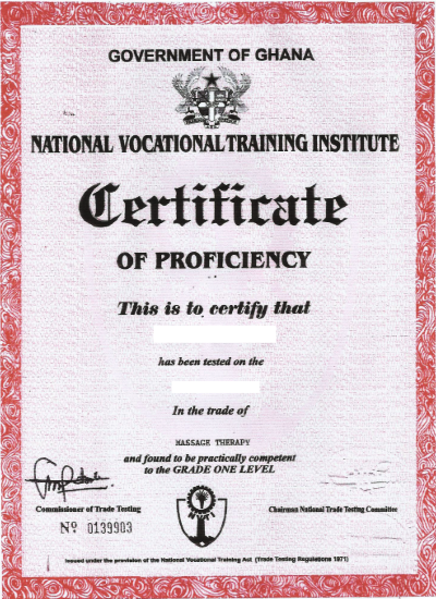 Spa Body N Beyond Massage Therapy Training Program Certificate – Training Certificate Sample